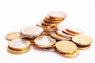 Illustration : numismatique (pièces de monnaie en euros)